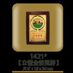1421立體金箔獎牌