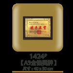 1424A3金箔獎牌